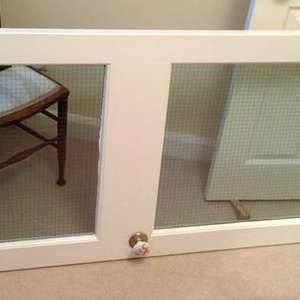 FreelyWheely Fire Door With Glass Panels