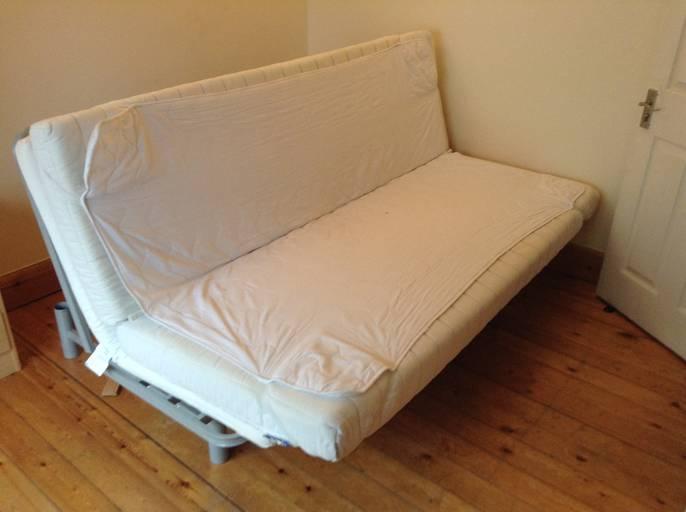 Freelywheely north laine ikea beddinge sofa bed black leather sofa desks and mattresses - Leather futon ikea ...
