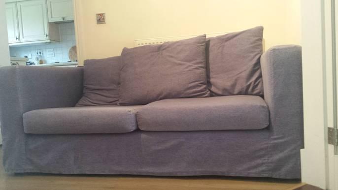 FreelyWheely Denim Blue Sofa