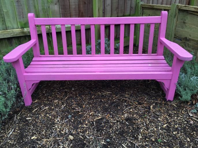 Freelywheely Garden Bench Pink