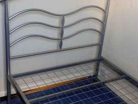 Freecycle Single Bed - metal frame