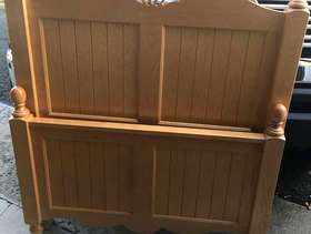 Freecycle Solid wood twin bed