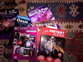 Freecycle Loads of music books, all new.