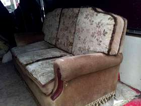 Freecycle 3 seater and matching chair