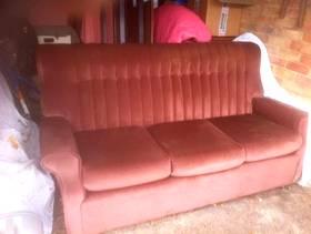 Freecycle 3Seater Fabric Sofa