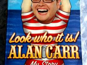 Freecycle Look who it is, Alan Carr