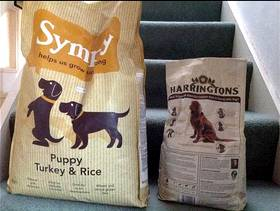 Freecycle Unopened bags puppy biscuit