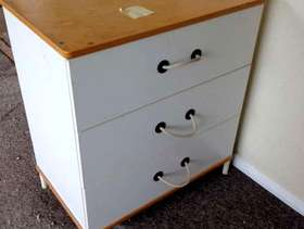 Freecycle IKEA chest of drawers