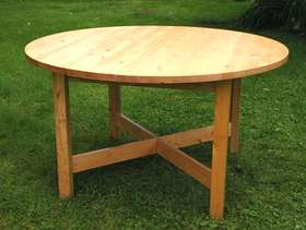 Freecycle Pine Table