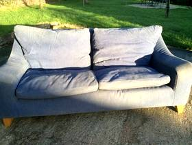 Freecycle Large contemporary sofa