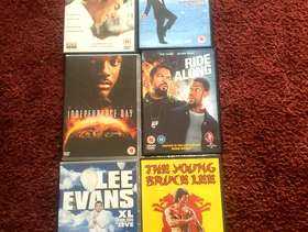 Freecycle Various DVDs some new & in the wrapper