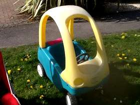 Freecycle Little Tikes car