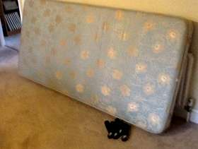 Freecycle Single bed base , with screwerable legs