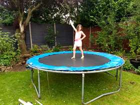 Freecycle Large trampoline Hitchin