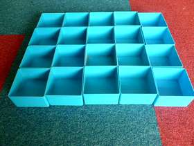 Freecycle An assortment of small storage compartments