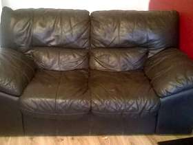 Freecycle Free two seater leather sofa