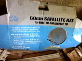 Freecycle Free to air satellite dish