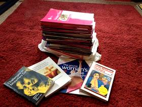 Freecycle Midwifery journals, books and pinard stethoscope