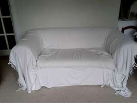 Freecycle Two seafter sofa