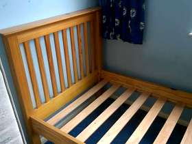 Freecycle Pine Single Bed