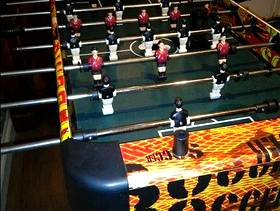 Freecycle Soccer table top game.