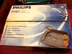 Freecycle Philips magic fax machine with copier and cordless phone