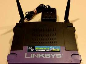 Freecycle Linksys Wireless Router