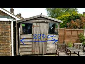 Freecycle Garden Shed