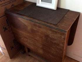 Freecycle Fold out table