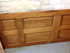 Freecycle Solid pine door 30inches x 77inches