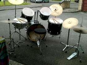 Freecycle Full drum kit