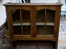 Freecycle Oak welsh dresser top part
