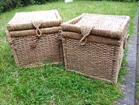 Freecycle 2 seagrass baskets