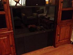 Freecycle Large rear-projection HDTV