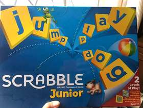 Freecycle Junior Scrabble