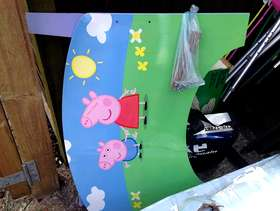 Freecycle Peppa Pig Toddler Bed