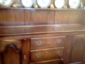 Freecycle Solid oak dresser