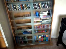 Freecycle Cd/DVD/book storage