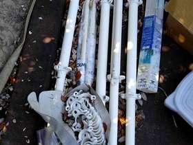 Freecycle Ikea Stolmen poles