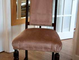 Freecycle Eight antique Dining chairs