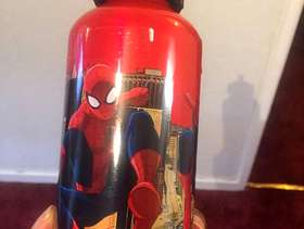 Freecycle Spider-Man bottle