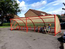 Freecycle Cycle Shelter