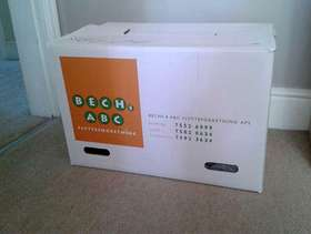 Freecycle Professional moving boxes