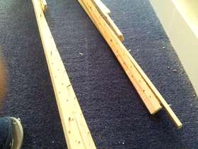 Freecycle Carpet gripper strips