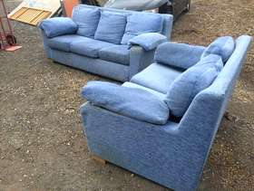 Freecycle 3 seater and 2 seater sofas in serviceable condition