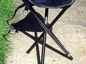 Freecycle Fold up 3 legged chair