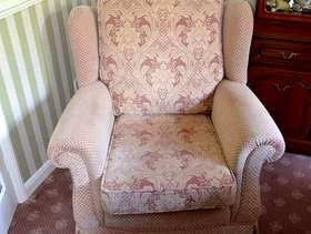 Freecycle Two good quality armchairs