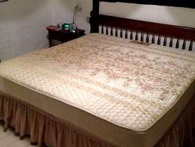 Freecycle Super king size bed