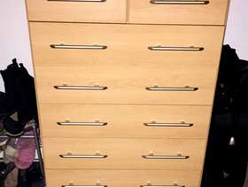 Freecycle Double wardrobes with matching chest of drawers