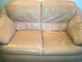Freecycle 2 x 2seater leather sofas
